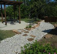 yard drainage fort worth
