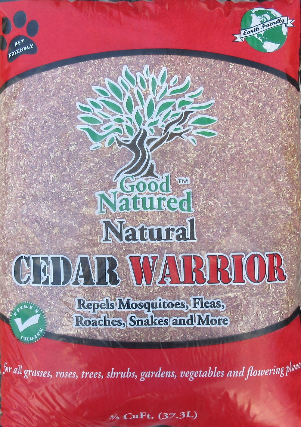 Cedar Warrior cedar flakes