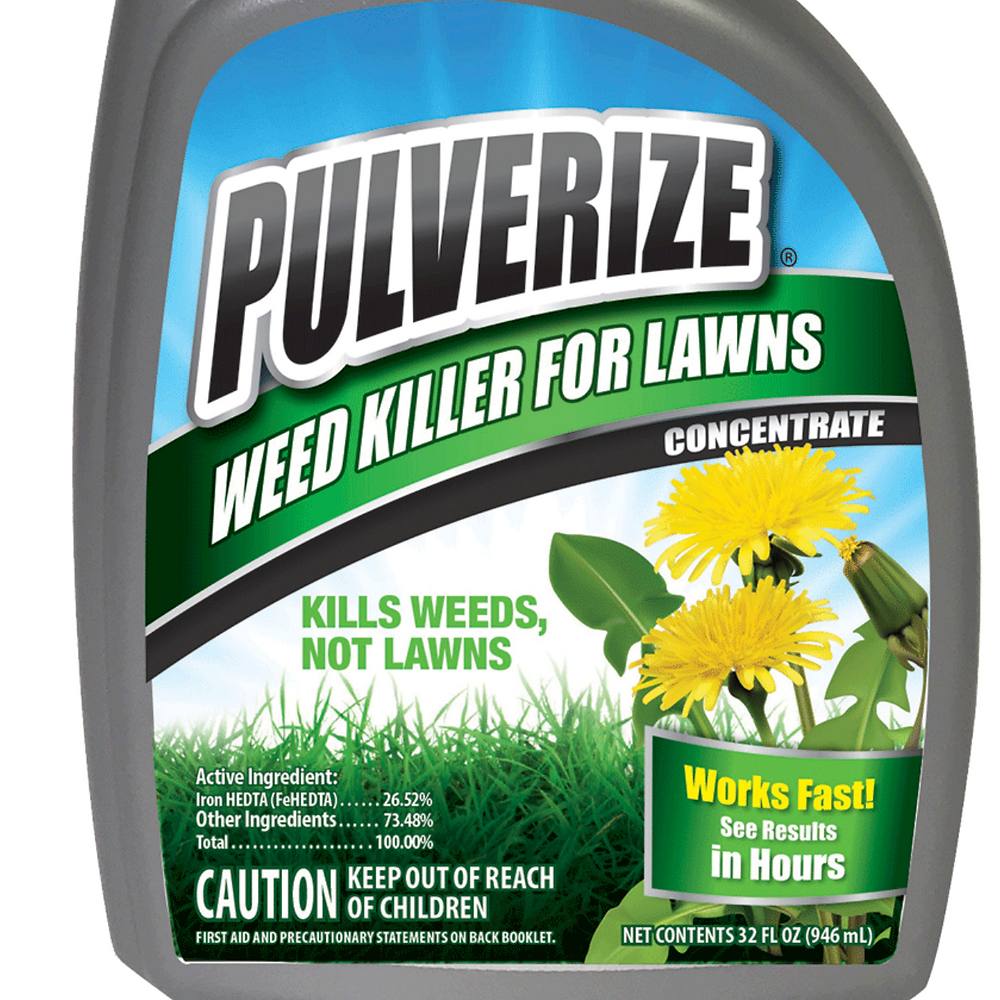 Pulverize Weed Killer for Lawns