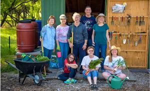 Members of The Giving Garden of Carrollton