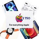 Raffle item Everything Apple-John and Ma