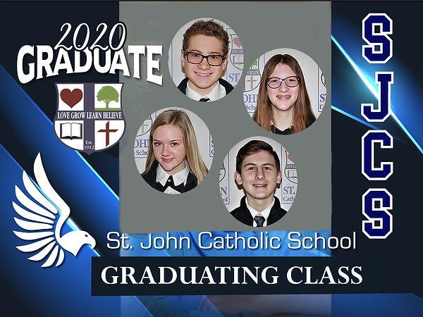 2020 SJCS Graduating Class Group Yard si