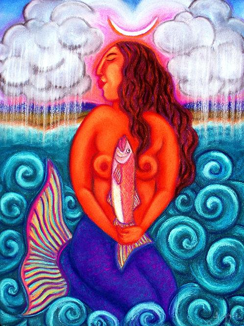 Mermaids Rain Prayer ~ SOLD