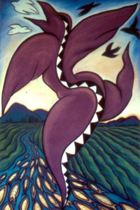 Snake Dance on Fish