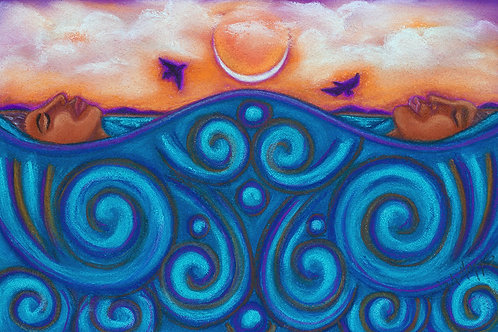 """New Moon Float"" Available at Prentice Gallery"