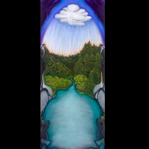 Big River Totem ~Sold Proceeds to MLT