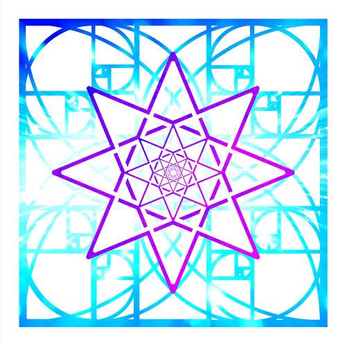 Geometric Merkabah Keys of Melchizedek (1 key)