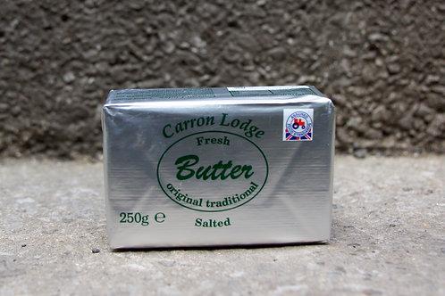 Butter unsalted 250g