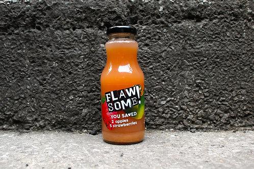 Flawsome Apple & Strawberry Drink 250ml x 12 glass pack