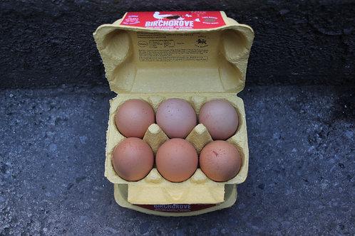 Eggs one dozen large (Welsh free range)