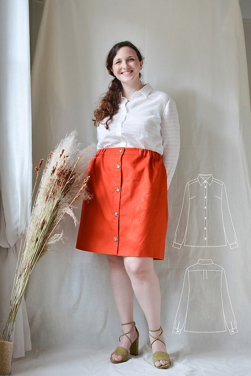 patron-de-couture-chemise-vue-devant
