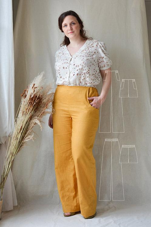 patron-de-couture-pantalon-short-jaune