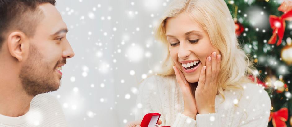 Heiratsantrag in der WeihnachtszeiT