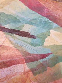Detail Voando com lagoas ao fundo