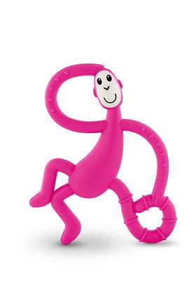 Dancing Monkey Teether Pink