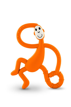 Dancing Monkey Teether Orange