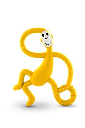 Dancing Monkey Teether Yellow