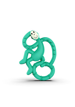 Mini Monkey Teether Green
