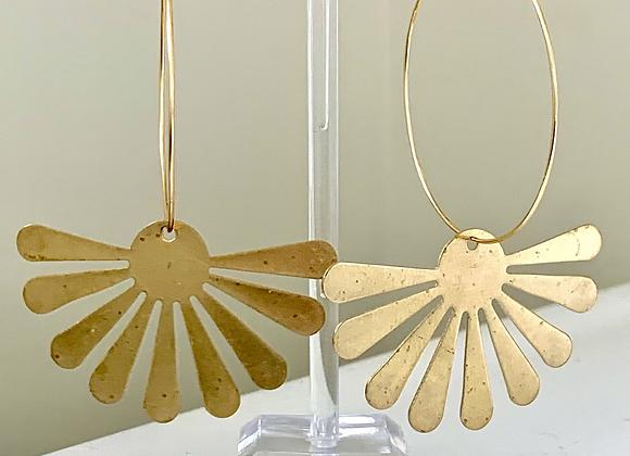 Brass Sunburst