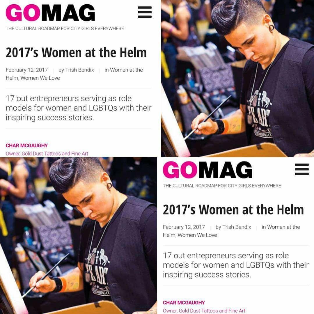 GoMagazine 2017 Women at the Helm