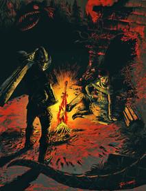 Bonfire lit in Magnamell
