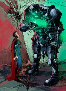 Alphabatman vs Superman