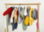 Dressing closet with complementary cloth