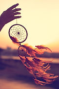 Dreamcatcher sunset , the mountains, boh