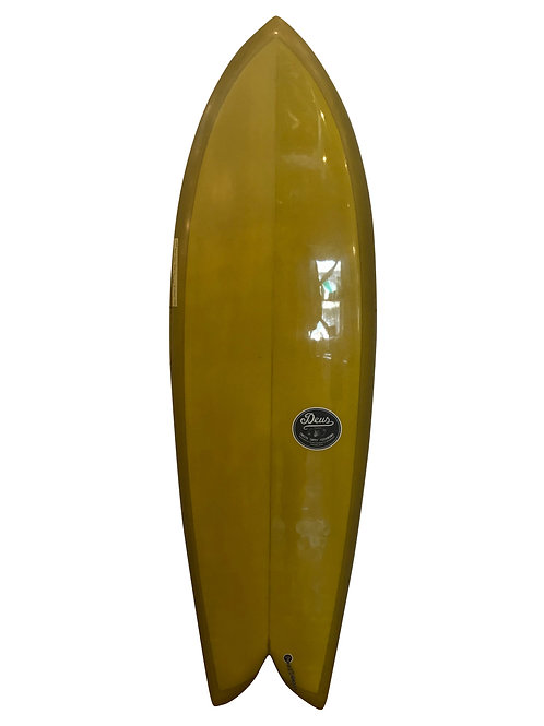 "DEUS CUSTOMS ""TAPPY SHAPE FISH 5'10"""