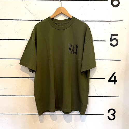 WAX loose fit tee S/S Autumn Color