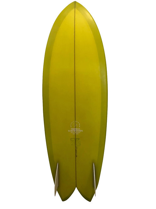 THOMAS SURFBOARDS TWIN FISH 5'6