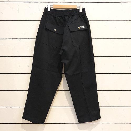 WAX2021 Pintuck trousers BLACK