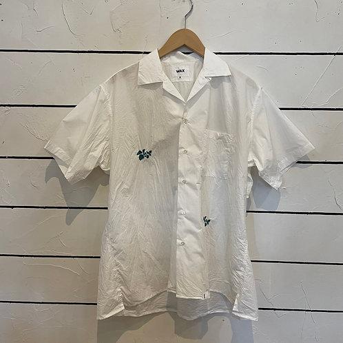 Flower open coller shirts