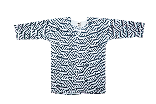 WAX 2020 Koikuchi-shirts 青海波/デルタ