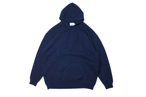 WAX  Knit pullover hoodie