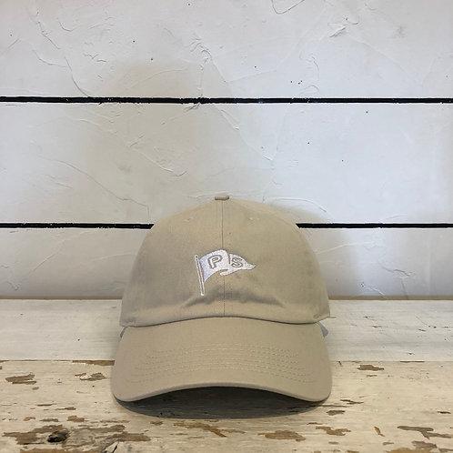 P BASE BALL CAP