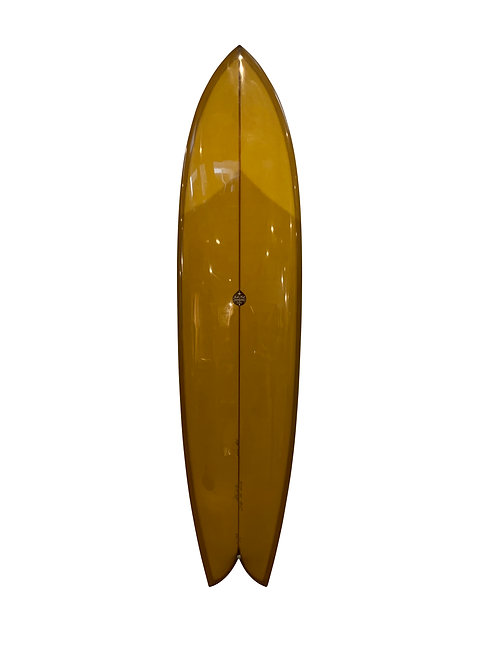 "JOSH HALL SURFBOARDS ""FISH SIMMONS 7'7"""