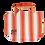 Thumbnail: THM Retoro stripe tote bag