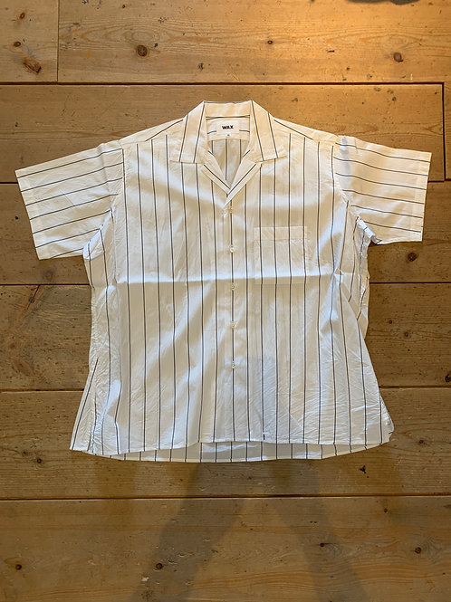 WAX Stripe camp collar S/S shirts
