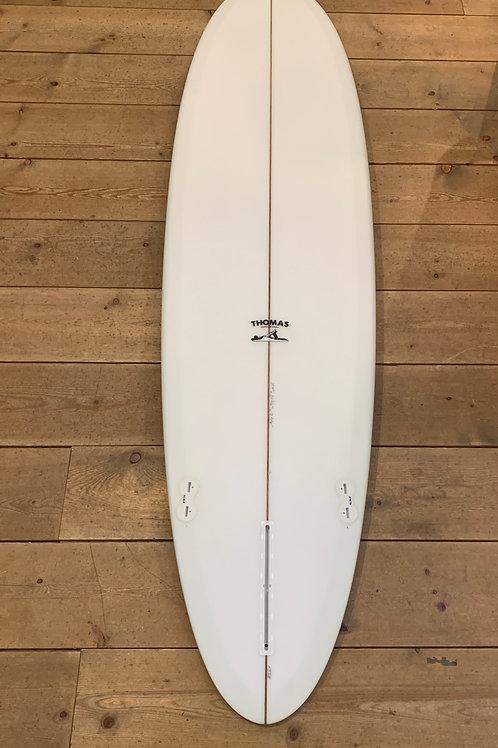 """送料無料 THOMAS SURFBOARDS """"Utility Mid 7'7 side bite"""