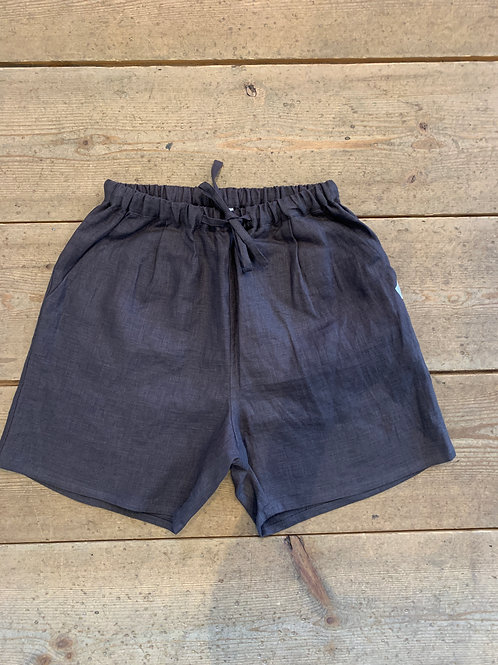 WAX Linen wide easy shorts