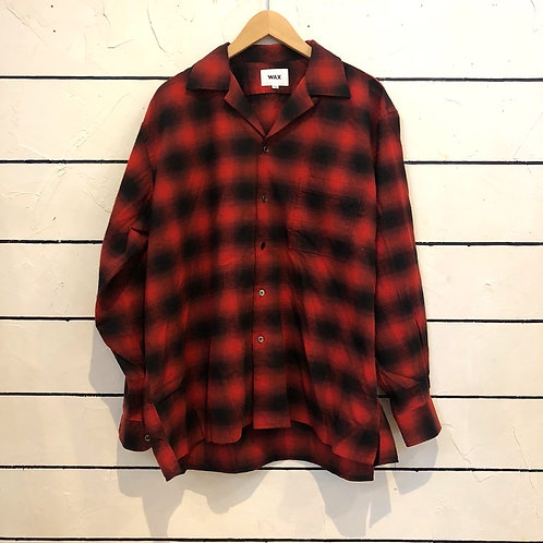 WAX  Ombre check open shirts