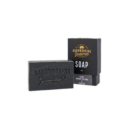 Hardworking Gentlemen Organic Tea Tree Charcoal Soap