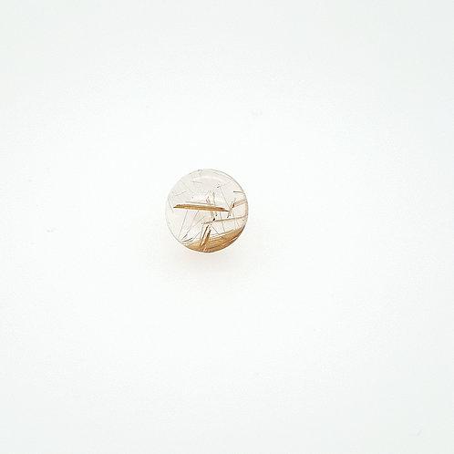 quartz rutile cabochon