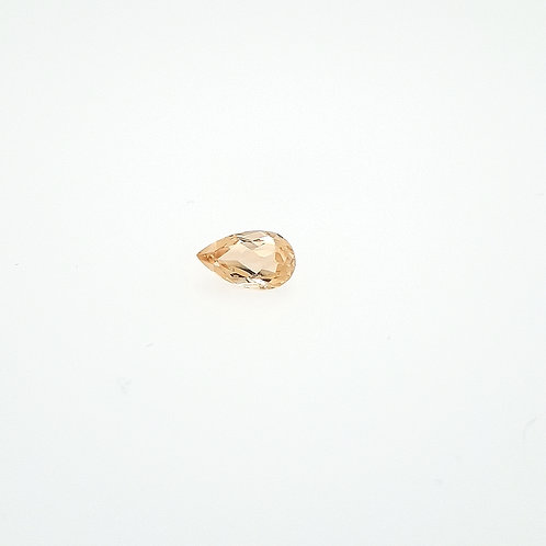danburite poire 1.09 ct