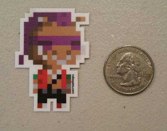 Boar Pixel Sticker