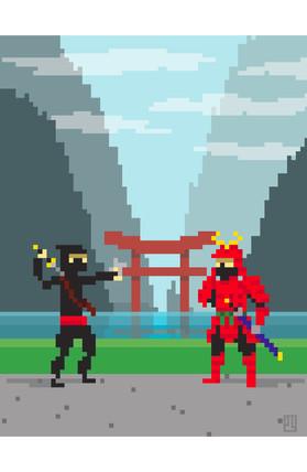 1v1: Ninja vs. Samurai
