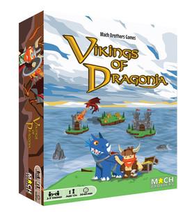 Vikings of Dragonia Box Art