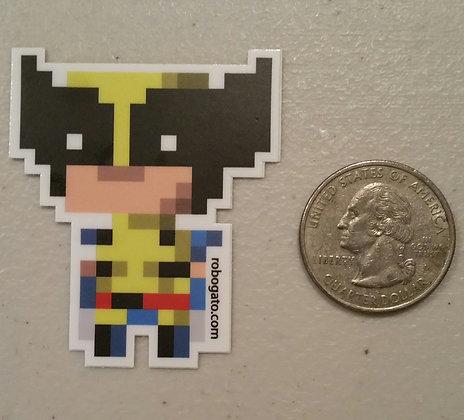 Logan Pixel Sticker