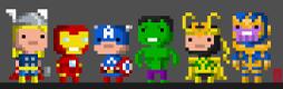 Avengers Button Set